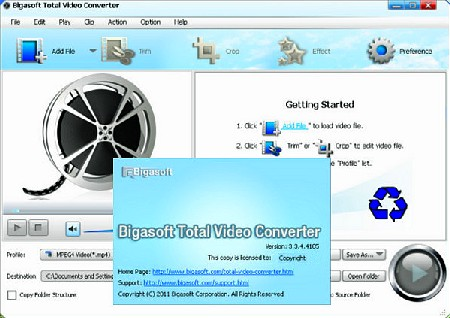Bigasoft Total Video Converter 3