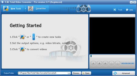 E.M. Total Video Converter Pro v3