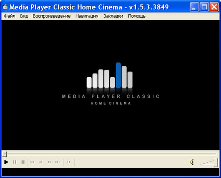 Media Player Classic HomeCinema 1.6.