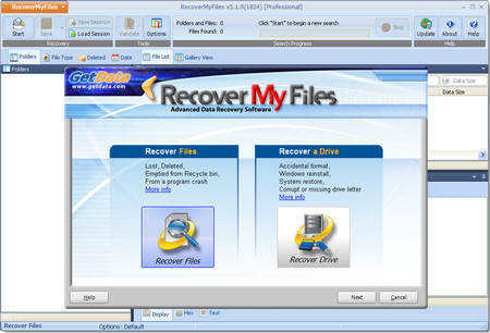 GetData Recover My Files 5.1.0.1824